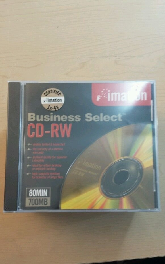 Imation Business Select  - Business Select CD-RW 700MB 4X 10 Discs Quantity 1