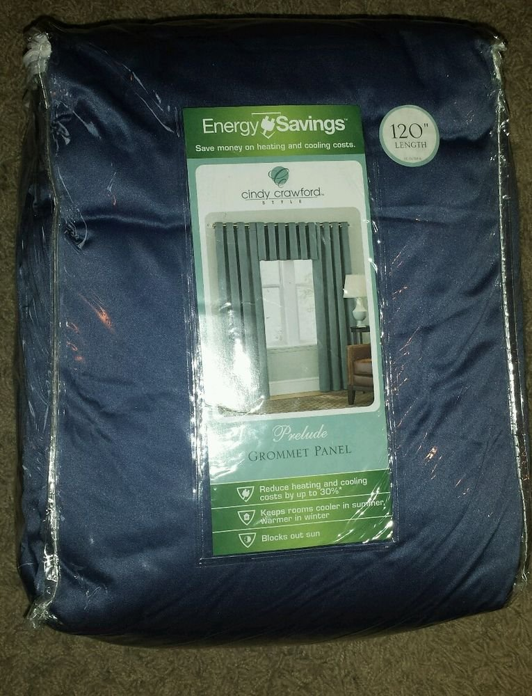 Cindy Crawford Style Energy Savings Prelude Grommet Panel 101'' - 140'', 40''