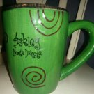 Ashley North Dakota mug green coffee cup