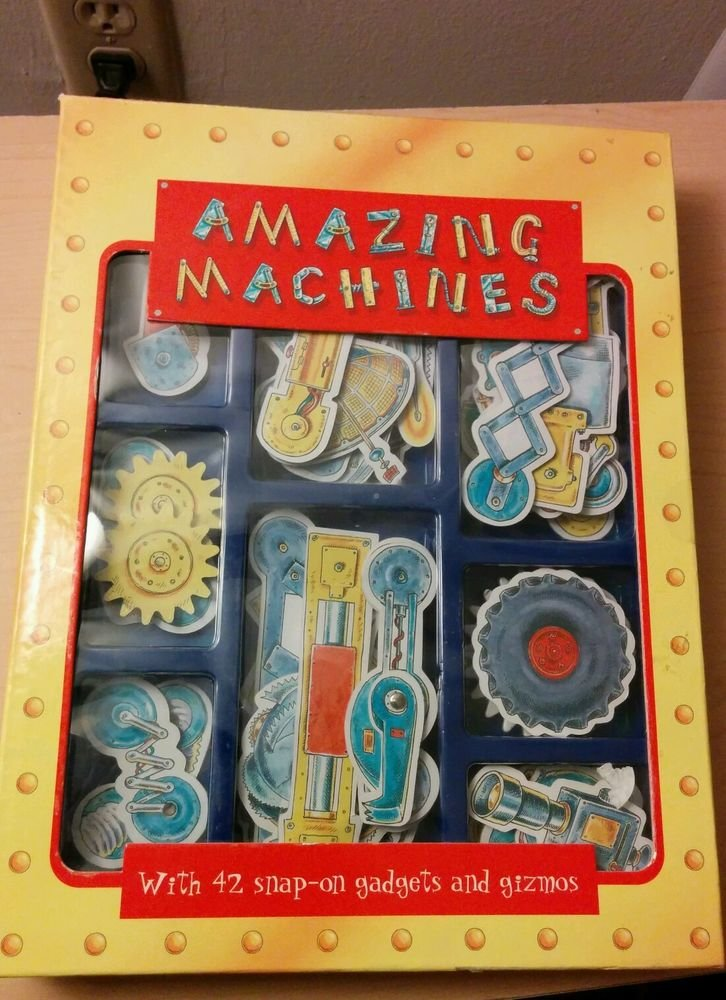 Amazing machines, 42 snap on gadgets Crafts & How-To, English, Hardcover, Pic