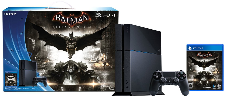 500GB PlayStation 4 Batman Arkham Knight Bundle