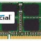 Crucial 4GB Single DDR3/DDR3L 1600 MT/s (PC3-12800) CL11 SODIMM Memory