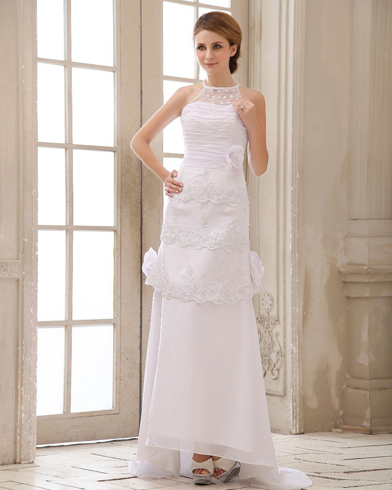 Stylish Beading Appliqu Sequins Wedding Dress Bridal Gowns