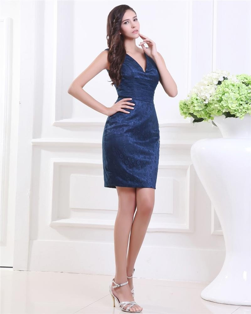 Beartiful Generous V Neck Elegant Evening Gown Party Dress