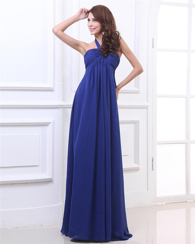Strapless Ruffle Ankle Length Sexy Evening Party Dresses