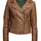 Women's Leather Fashion jacktes
