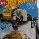 2019 Hot Wheels #105 Rod Squad 4/10 '32 FORD Gold w/Black Spokes New NICE!! #567