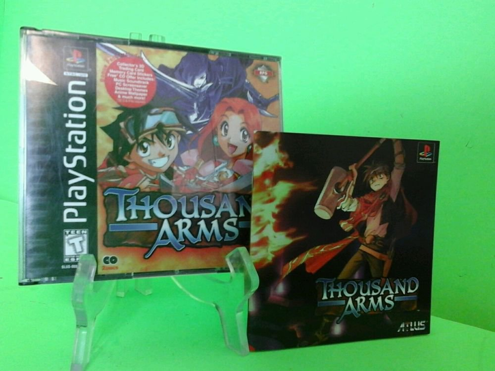 Playstation Thousand Arms ( PlayStation 1, PS1) Complete FAST FREE SHIPPING