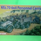 Dragon 1/72 7377 WWII German Kfz.70 6x4 Personnel Carrier