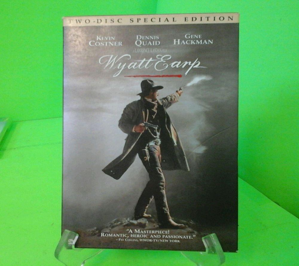 Wyatt Earp (DVD, 2004, 2-Disc Set, Special Edition) Kevin Costner