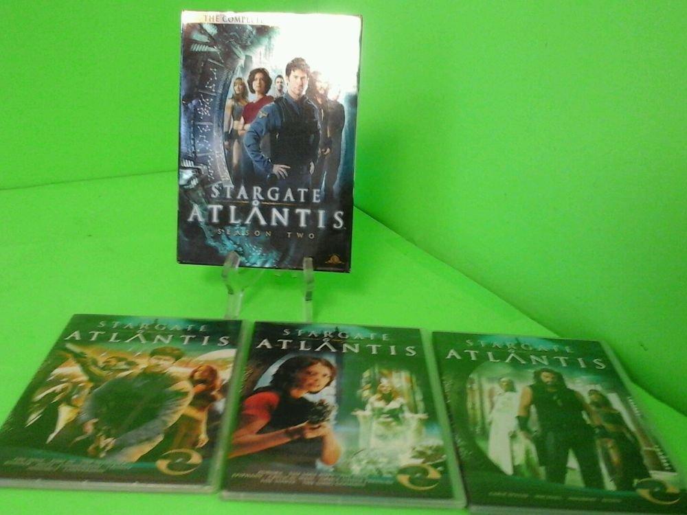 Stargate: Atlantis - Season 2 (DVD, 2009, 5-Disc Set) FAST FREE SHIPPING