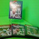 Greatest Sports Legends - Baseball (DVD, 2000, 3-Disc Set) 6 HOURS!!!