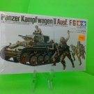 1/35 1971 TAMIYA GERMAN PANZER KAMPFWAGON II AUSF F/G TANK KIT MM109 NEW SEALED