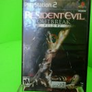 Resident Evil Outbreak File #2 Playstation 2 PS2 Fast Free Shipping! 627
