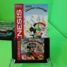 MICKEY'S ULTIMATE CHALLENGE - Sega Genesis - TESTED - Game Cartridge - !!!
