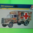 Italeri 7055: 1/72 Kfz.305 Ambulance