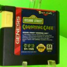 Sesame Street Counting Cafe for Sega Genesis - FAST FREE SHIPPING