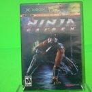 NINJA GAIDEN - XBOX Game! Microsoft Black Label Complete