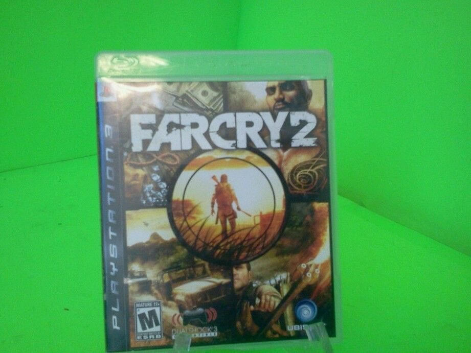 Far Cry 2 (Sony Playstation 3, 2008) COMPLETE FAST FREE SHIPPING