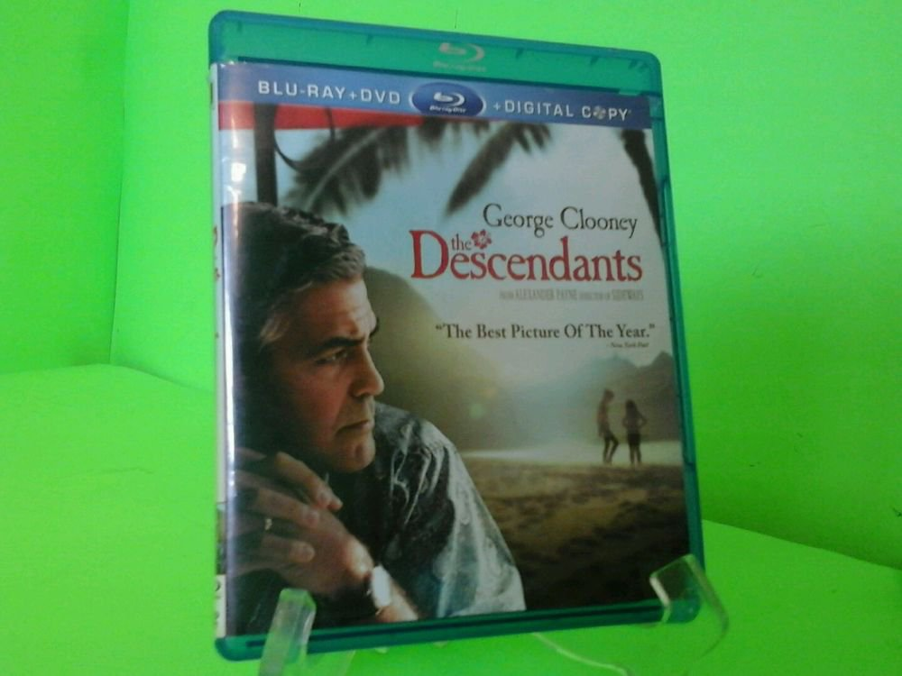 The Descendants (Blu-ray Disc only) FAST FREE SHIPPING
