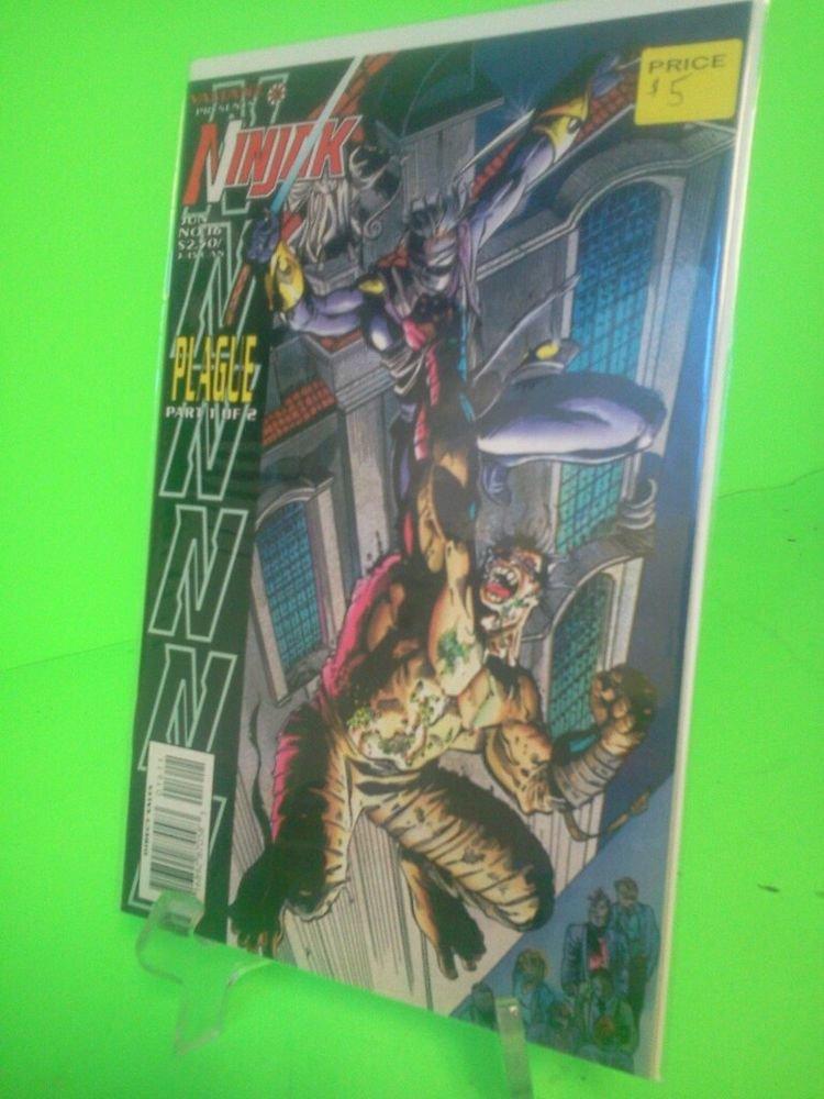 Valiant: Ninjak!!!  Vol. 1, No. 16!!! June 1995 FREE SHIPPING