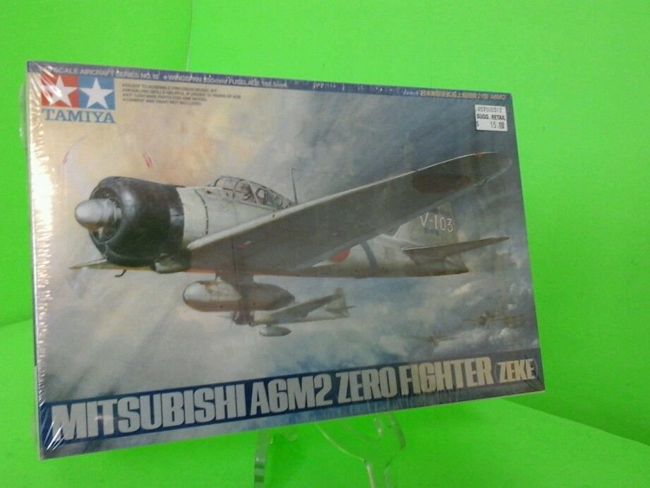 TAMIYA  MITSUBISHI A6M2 ZERO FIGHTER (ZEKE) 1:48 Scale NEW SEALED FAST SHIPPING