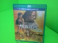 Hercules (Blu-ray/DVD, 2014, 2-Disc Set; Extended Cut) FAST FREE SHIPPING