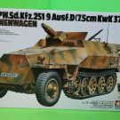 Tamiya Mtl.Spw. Sd.Kfz.251/9 Ausf.D Kanonenwagon 1/35 Scale Model Kit #147