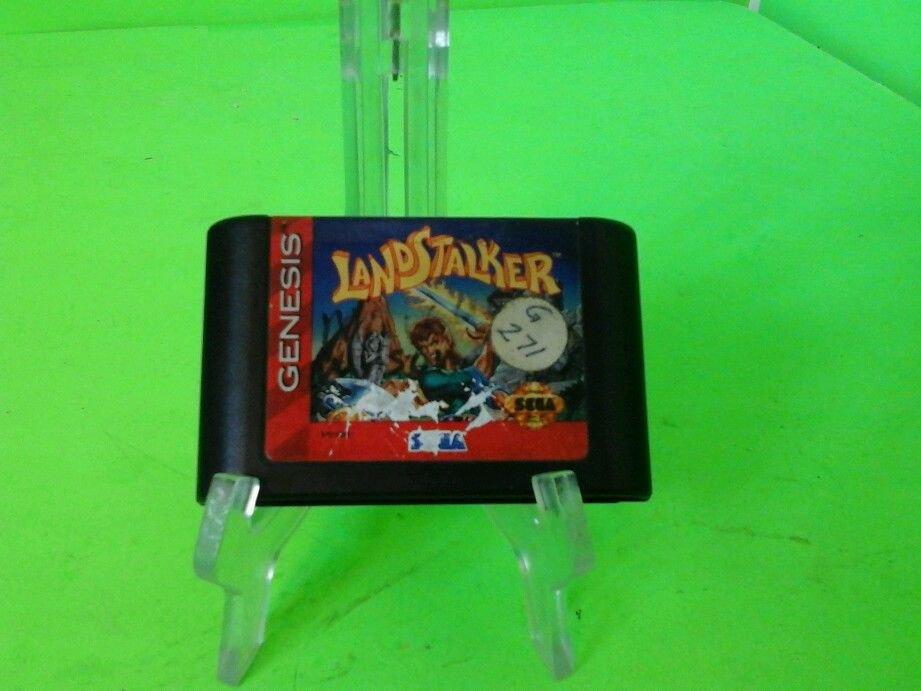 Landstalker Sega Genesis Loose Fun Classic Rare Tested Works! HTF!