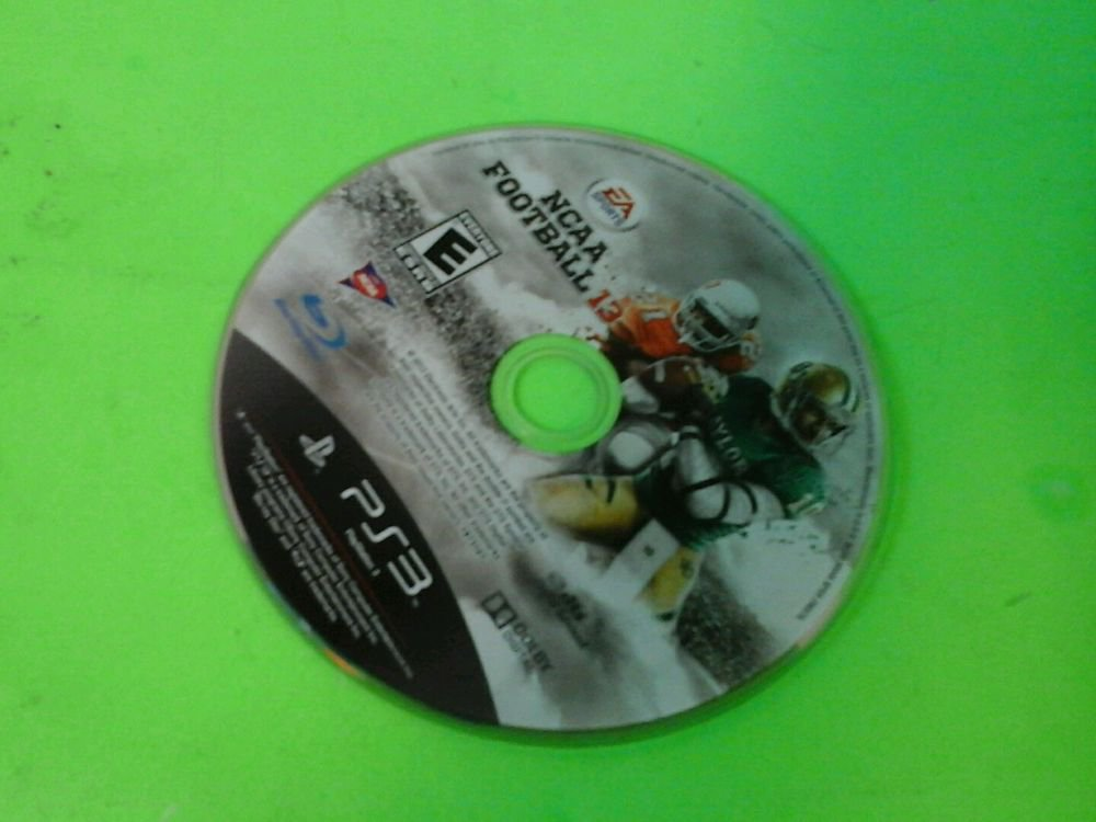 NCAA Football 13 PS3 (Sony Playstation 3, 2012) disk only