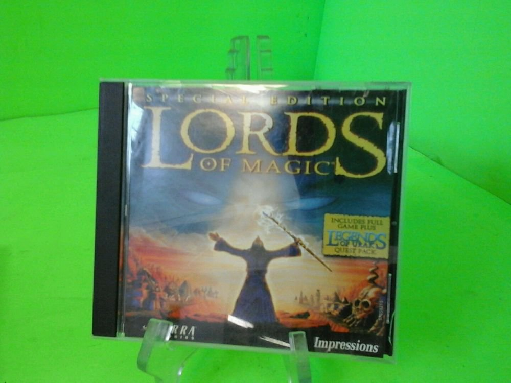 Lords of Magic: Special Edition - PC Computer CD Video Game by Sierra in Case!