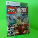 LEGO Marvel Super Heroes (Microsoft Xbox 360, 2013) *COMPLETE* FREE SHIPPING
