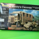 Monty's Caravan Leyland Retriever & Scout Car 1/76 Scale by Revell 3227