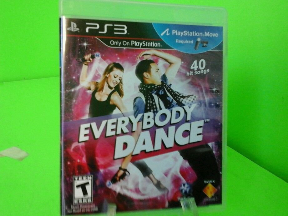 Everybody Dance  (Sony Playstation 3, 2011) ** Complete ** FAST FREE SHIPPING