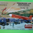 Renwal 1/32 Teracruzer with Mace Missile Plastic Model Kit # 85-7812