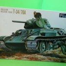 Fujimi WWII Russian Medium Tank T-34/76A-1/76 Scale -FREE SHIPPING