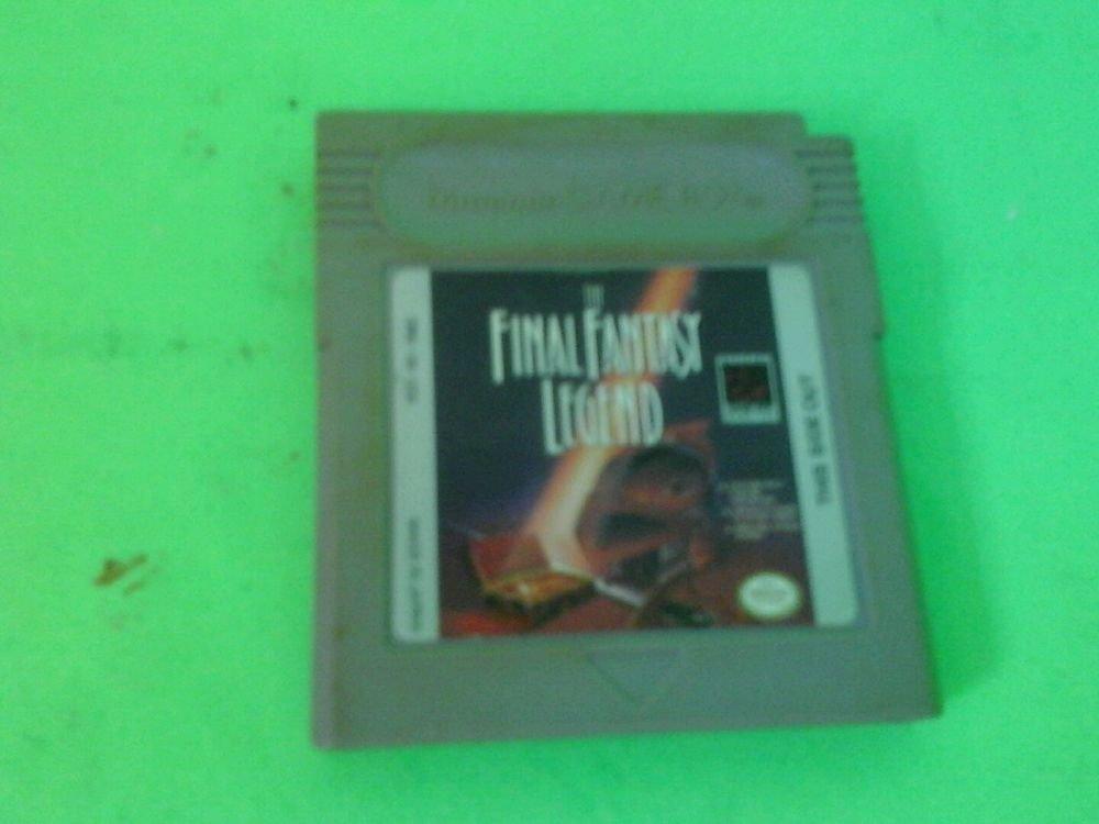 Final Fantasy Legend  (Nintendo Game Boy, 1990) FAST FREE SHIPPING