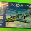 Revell 1/72 P-51D Mustang Plastic Model Kit 4148 FAST SHIPPING