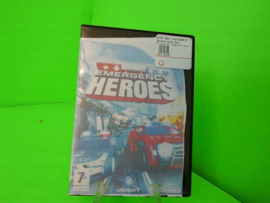 Emergency Heroes  (Wii, 2008) FAST FREE SHIPPING