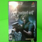 Resident Evil 4 - COMPLETE & TESTED - PS2 PlayStation 2 - EXCELLENT Condition