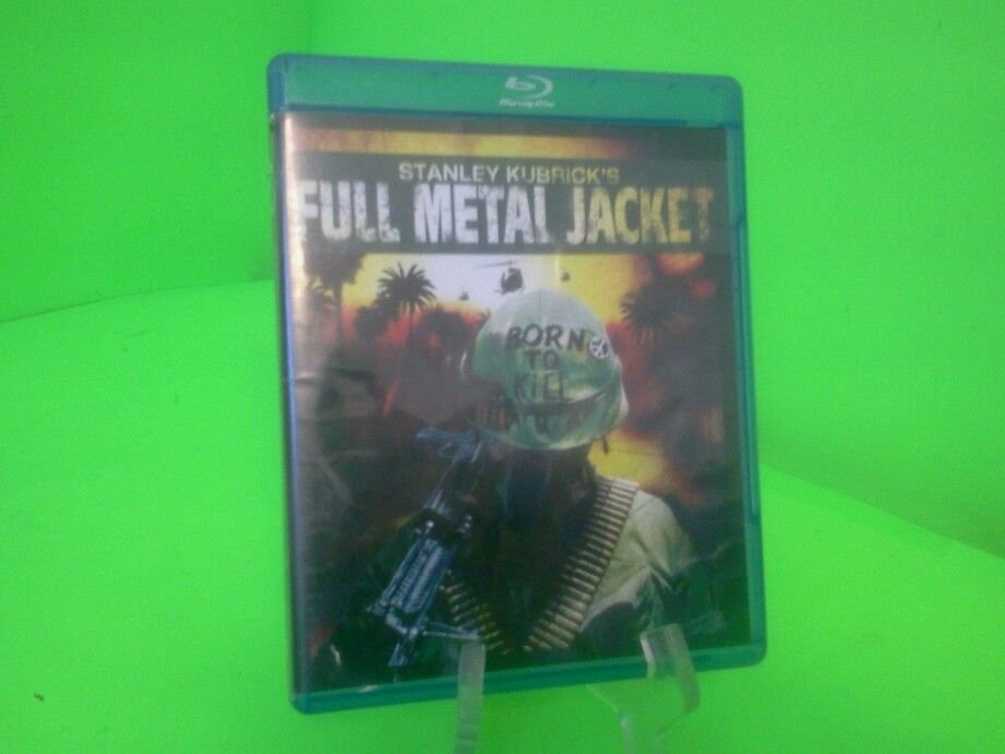Full Metal Jacket (Blu-ray Disc, 2007) FAST FREE SHIPPING
