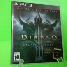 Diablo III: Reaper of Souls -- Ultimate Evil Edition (Sony Playstation 3, 2014)