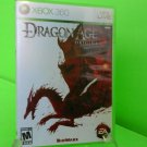 Dragon Age: Origins  (Xbox 360, 2009) COMPLETE FAST FREE SHIPPING