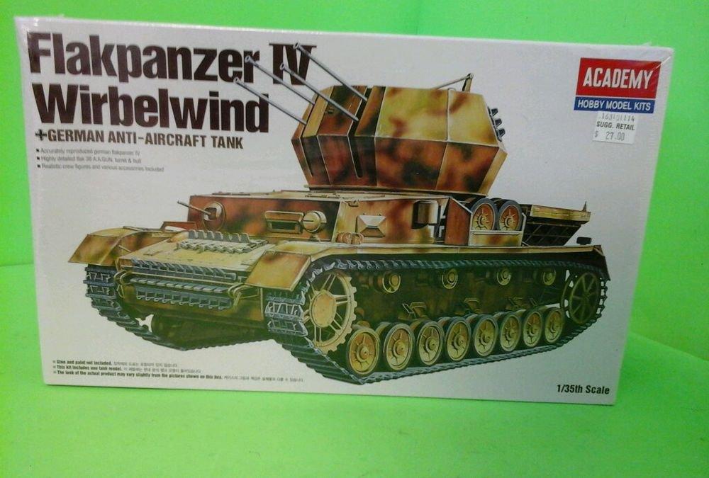 1/35 ACADEMY #13236 FLAKPANZER IV WIRBELWIND GERMAN ANTI AIRCRAFT TANK N SEALED