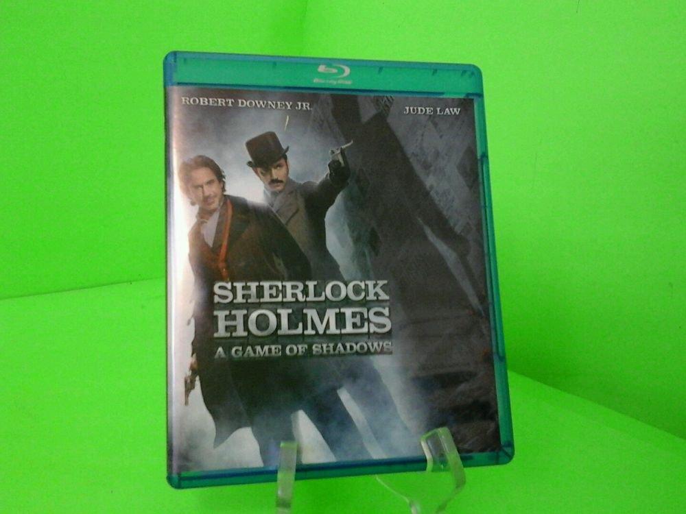 Sherlock Holmes: A Game of Shadows (Blu-ray Disc, 2012) FAST FREE SHIPPING