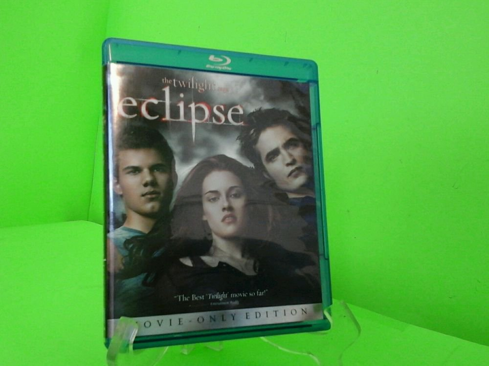 The Twilight Saga: Eclipse (Blu-ray Disc, 2010) FAST FREE SHIPPING