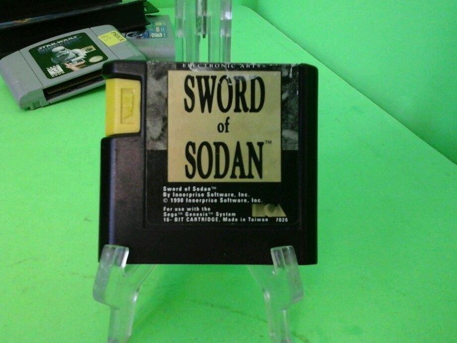 Sega Genesis Sword of Sodan - Working Game Cartridge Only RPG Adventure Games