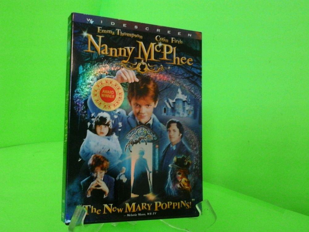 Nanny Mcphee  DVD Emma Thompson, Colin Firth, Angela Lansbury, Kelly Macdonald,