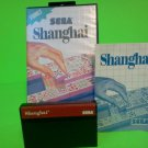 Shanghai  (Sega Master System 1988) COMPLETE w/ Box manual game WORKS!