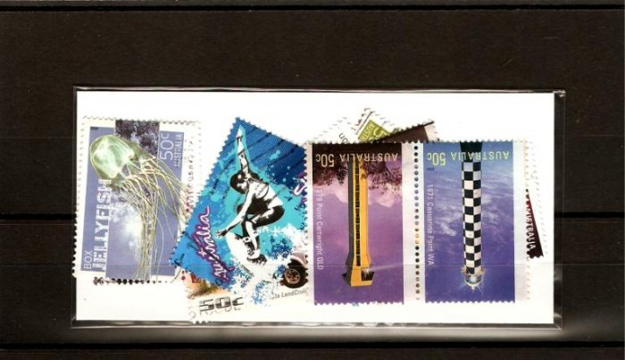 recent 2006 Australia sheet stamps